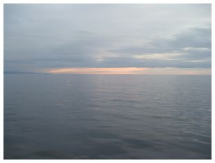鳥取砂丘沖の夕焼け