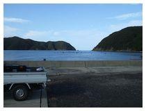 狩尾漁港から外海方面